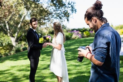 les services d'un professionnel en photographie